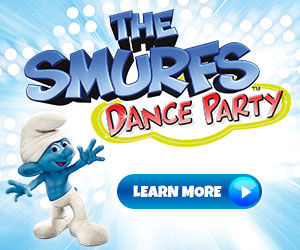 Smurfs Dance Party Promo