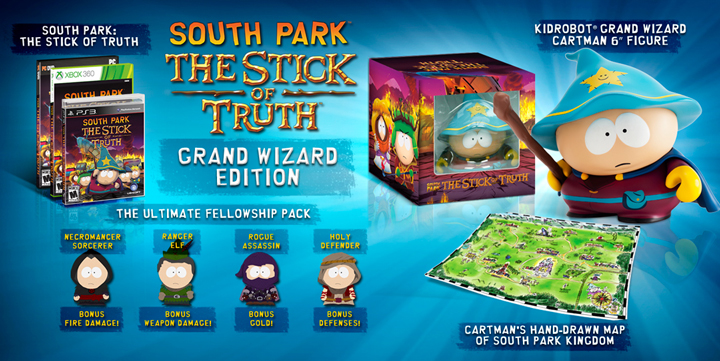 South Part: The stick of the Truth proorder - Ubisoft Obsedian