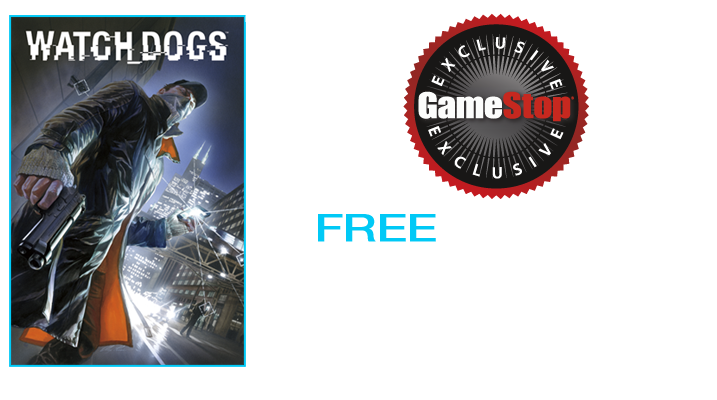 Pre-Order Watch Dogs at GameStop Today!