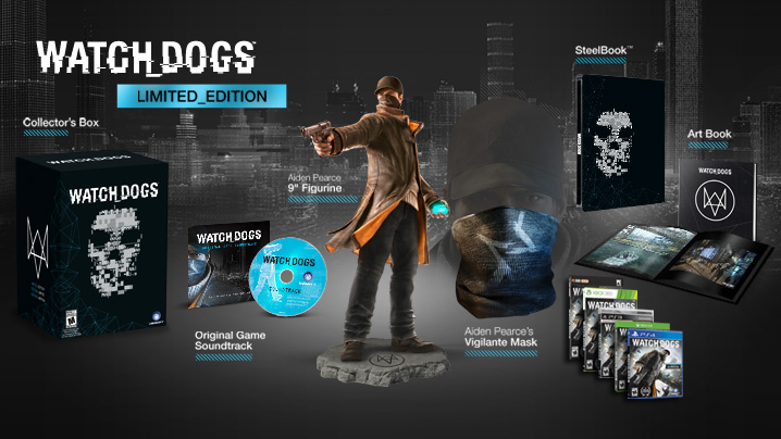 Pre-Order the Watch Dogs Limited Edition Today