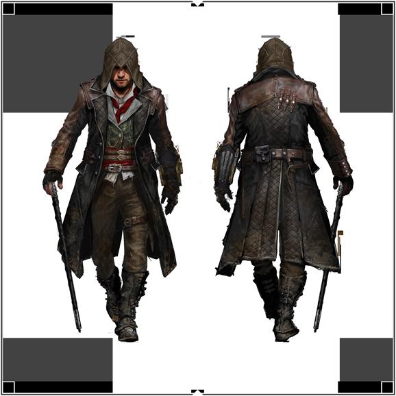 Вдохновленный Assassins Creed Unity Арно Виктор Дориан