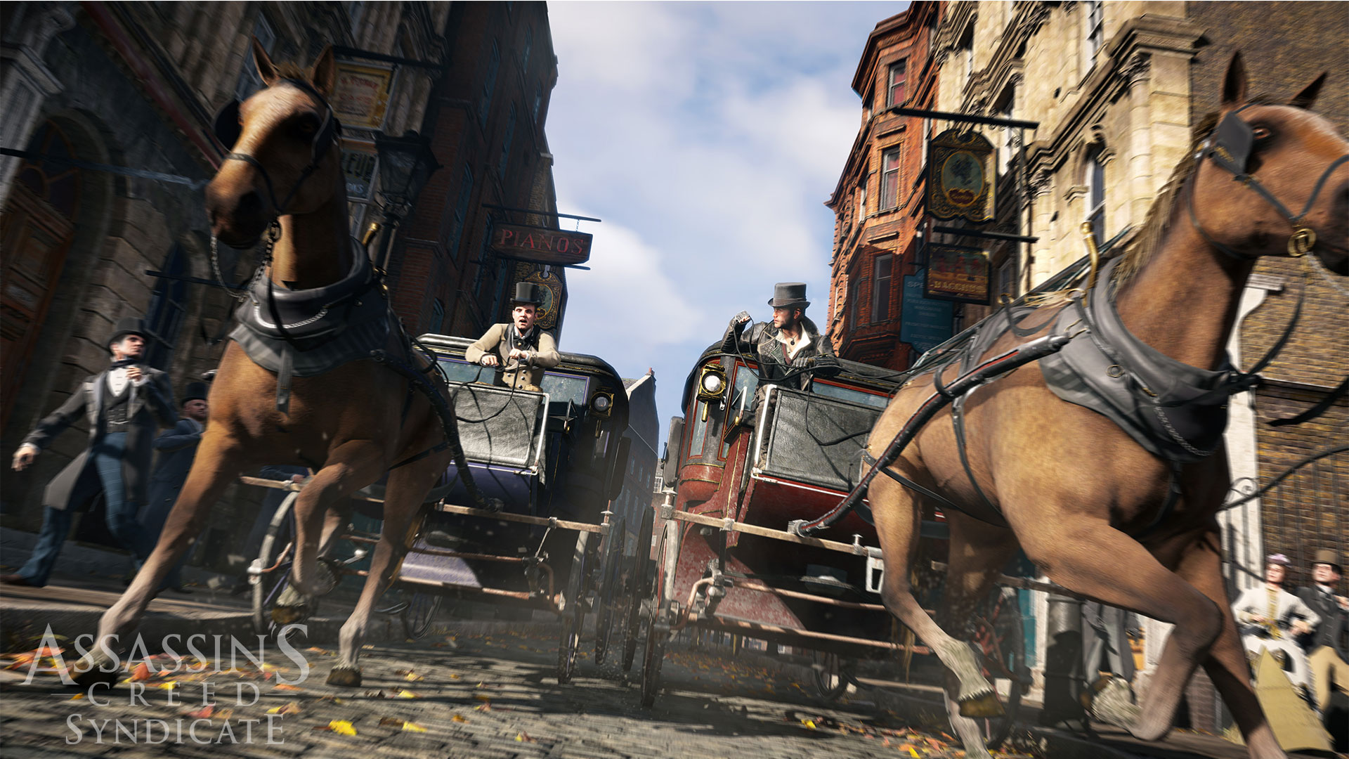 Visuel Calèche Assassin's Creed Syndicate