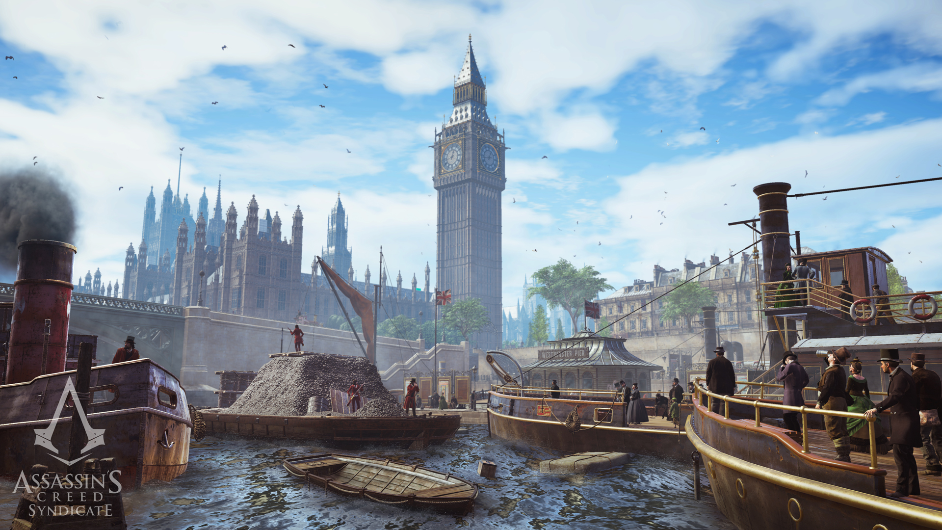 Visuel Londres Assassin's Creed Syndicate
