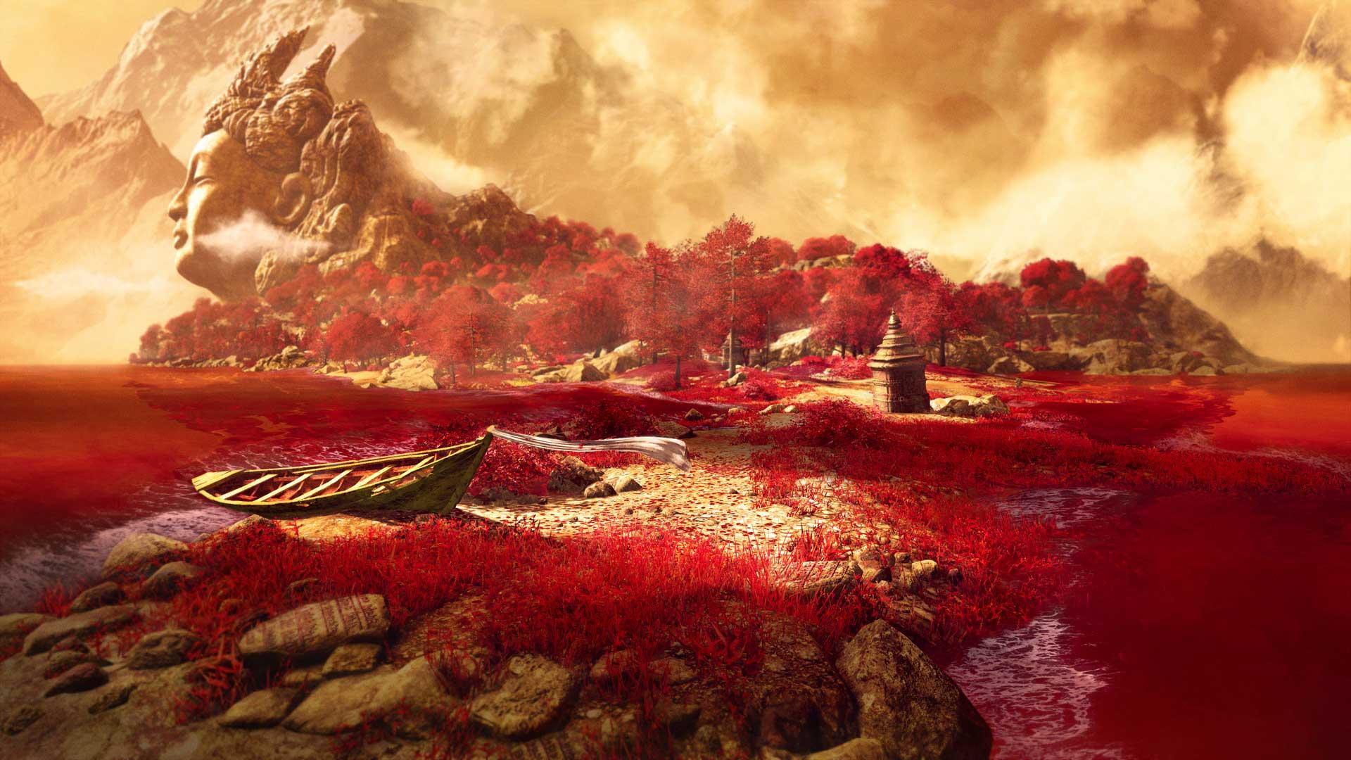 De far cry 4 todos os trailers cenas artes e imagens de far cry 4