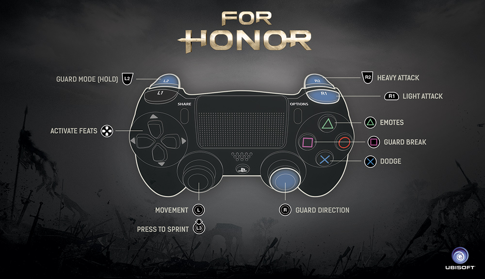 how to use xbox controller on pc in for honor