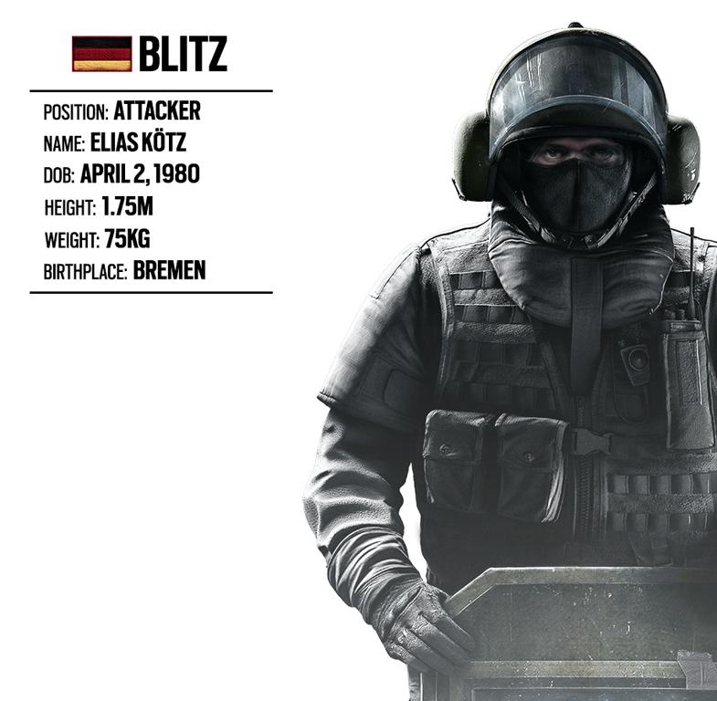 Blitz [Rainbow Six Siege] Minecraft Skin